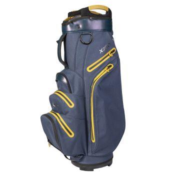 XXIO Premium Cart Bag - Blue/Gold