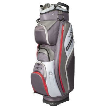 XXIO Hybrid Cart Bag - Black/Charcoal/Grey