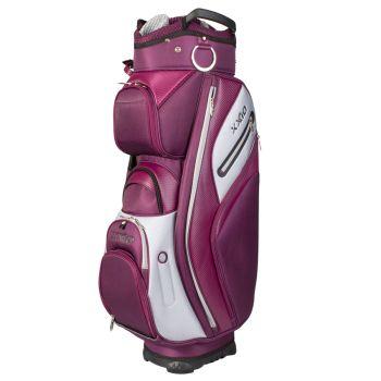 XXIO Hybrid Lady Cart Bag - White/Purple/Grey