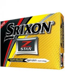 SRIXON Z-STAR GOLF BALLS - TOUR YELLOW