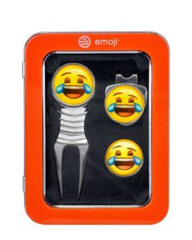 EMOJI DIVOT TOOL GIFT SET - LAUGHING