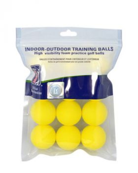 PGA TOUR 12PK YELLOW FOAM BALLS