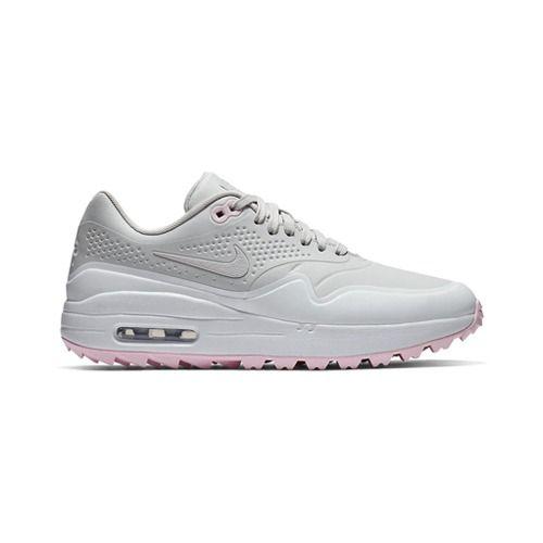 Egolf Megastore Nike Air Max 1g Golf Shoes Vast Grey Pink Foam Online Golf Store