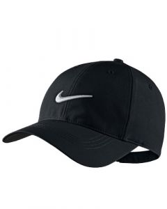NIKE LEGACY 91 TECH SWOOSH CAP - BLACK