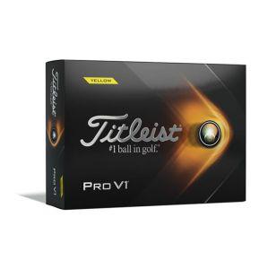 Titleist Pro V1 2021 Golf Balls - Yellow