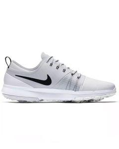 Nike FI Impact 3 Golf Shoes - White/Black/Pure Platinum