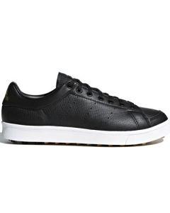 Adidas Adicross Classic Wide Golf Shoes - Core Black/Matte Gold