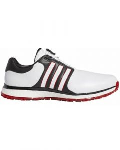 Adidas Tour 360 XT-SL Boa Golf Shoes - FTWR White/Core Black/Scarlet