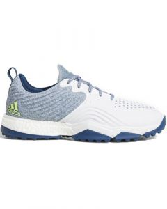 Adidas Adipower 4orged S Wide Shoes - Legend Marine/Ftwr White/Hi-Res Yellow