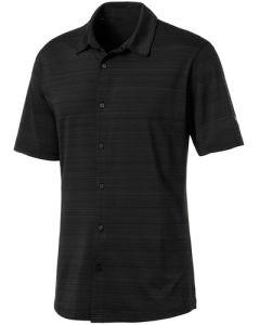 PUMA Breezer Golf Shirt - Black