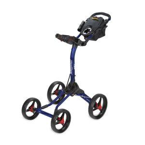 BagBoy Quad XL Push Cart - Navy/Red